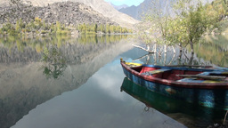 Kachura lake - Northern Pakistan Stock Video Footage