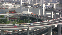 Nanpu bridge - Shanghai Stock Video Footage