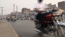 Lahore traffic Stock Video Footage