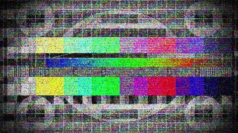 Bad tv 3 Stock Video Footage