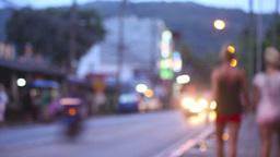 Streets of Phuket Stock Video Footage
