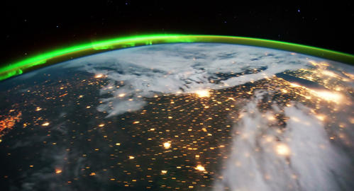 4 K Space Station 16 USA Stock Video Footage