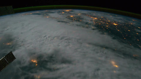 Space Station 06 Earth Stock Video Footage