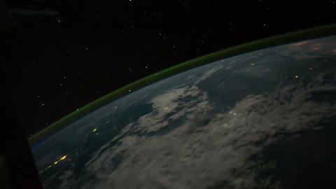 Space Station 11 Philippines Stock Video Footage