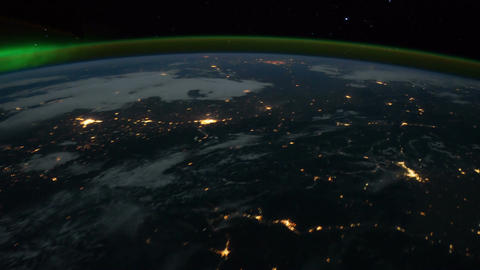 Space Station 13 USA Stock Video Footage