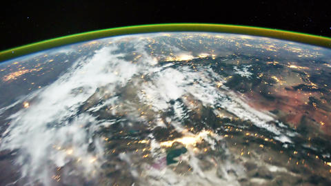 Space Station 15 USA Footage