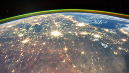 Space Station 15 USA Stock Video Footage
