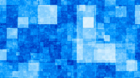 Blue blocks Animation