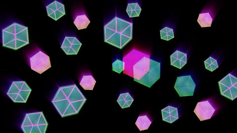 cube 02 Stock Video Footage