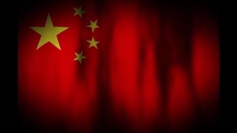 中国の国旗 CG動画