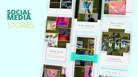 Social Stories: Fashion Aesthetics After Effects Template