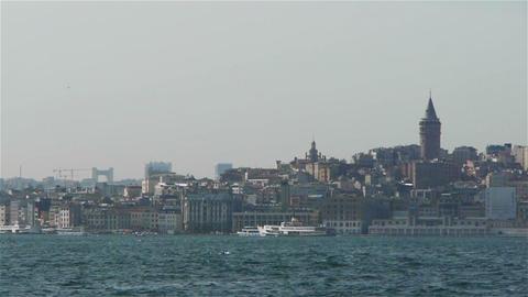 Istanbul city, Turkey Footage