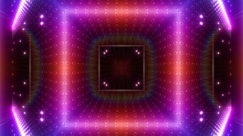 LED Kaleidoscope Wall 2 W Db M 2g HD Stock Video Footage