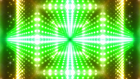 LED Kaleidoscope Wall 2 W Db M 2g HD stock footage