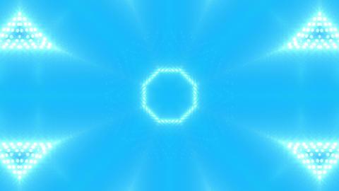 LED Kaleidoscope Wall 2 W Db M 3g HD Stock Video Footage