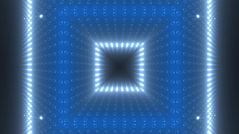 LED Kaleidoscope Wall 2 W Db O 1g HD Stock Video Footage