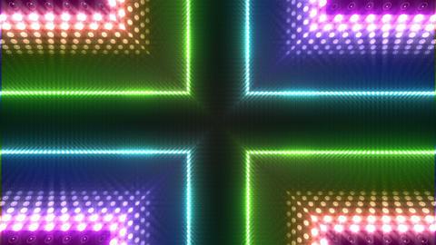 LED Kaleidoscope Wall 2 W Db O 2g HD Stock Video Footage