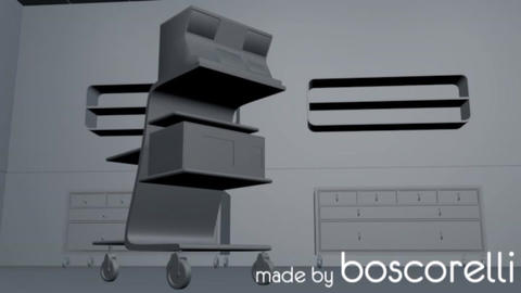 High Tech Operation Medical Room 3D model 3D Model