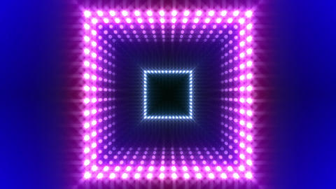 LED Kaleidoscope Wall 2 W Db O 4g HD Stock Video Footage
