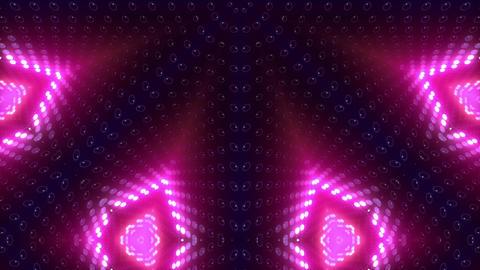 LED Kaleidoscope Wall 2 W Db Y 1g HD Stock Video Footage