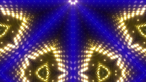 LED Kaleidoscope Wall 2 W Db Y 2g HD Stock Video Footage