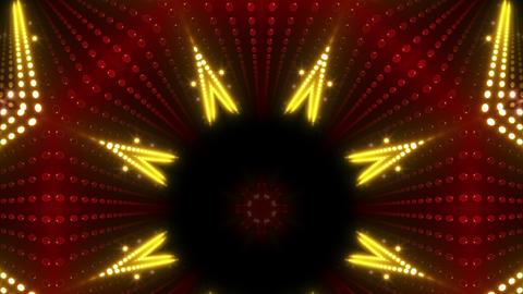 LED Kaleidoscope Wall 2 W Db Y 3g HD Stock Video Footage