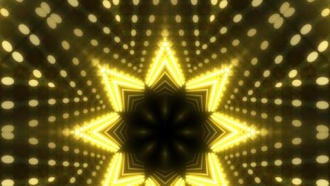 LED Kaleidoscope Wall 2 W Db Y 4g HD Stock Video Footage