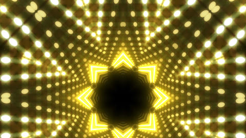 LED Kaleidoscope Wall 2 W Db Y 4g HD Stock Video Footage