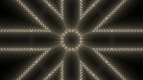 LED Kaleidoscope Wall 2 W Ds M 3 HD Stock Video Footage