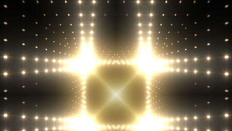 LED Kaleidoscope Wall 2 W Ds M 5g HD Stock Video Footage