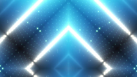 LED Kaleidoscope Wall 2 W Ds O 1g HD Stock Video Footage
