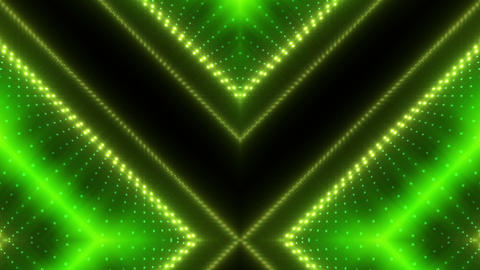 LED Kaleidoscope Wall 2 W Ds O 3g HD Stock Video Footage