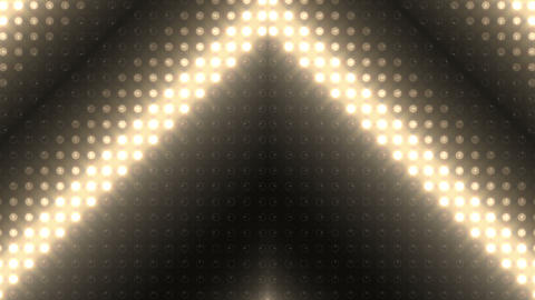 LED Kaleidoscope Wall 2 W Hb M HD Stock Video Footage