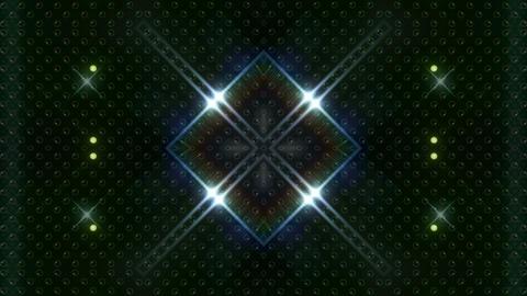 LED Kaleidoscope Wall 2 W Hb Yg HD Stock Video Footage