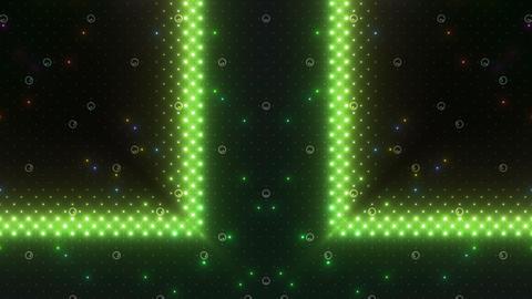 LED Kaleidoscope Wall 2 W Hs M HD Stock Video Footage
