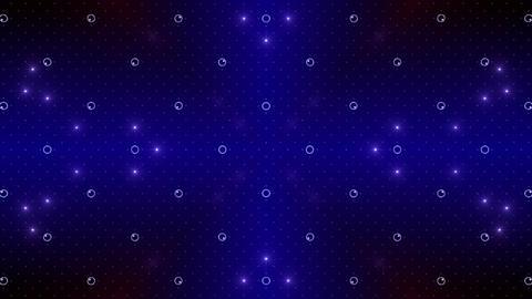 LED Kaleidoscope Wall 2 W Hs Yg HD Stock Video Footage