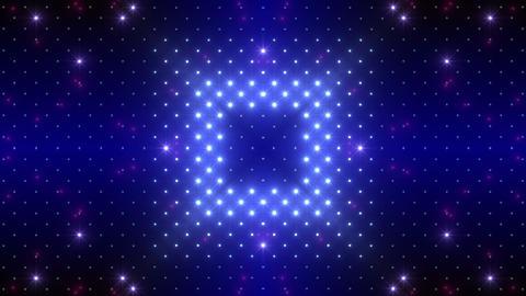 LED Kaleidoscope Wall 2 W Hs Yg HD CG動画