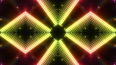 LED Kaleidoscope Wall 2 W Ib R HD CG動画