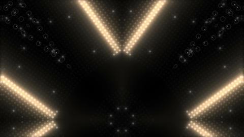 LED Kaleidoscope Wall 2 W Ib W HD Stock Video Footage