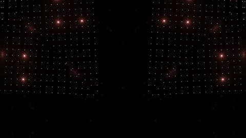 LED Kaleidoscope Wall 2 W Is R HD Stock Video Footage