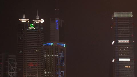 Shanghai skyscrapers Stock Video Footage