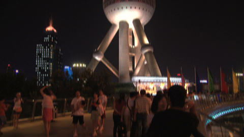 Oriental Pearl Tower Footage
