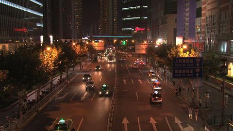 Shanghai street Stock Video Footage