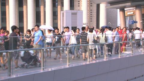 Shanghai people Stock Video Footage