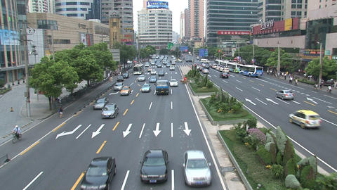 Shanghai traffic Stock Video Footage