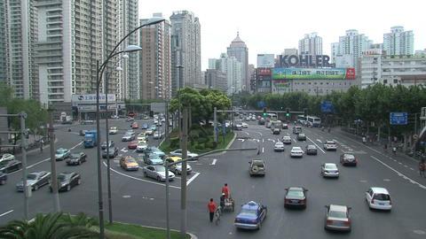 Shanghai traffic Stock Video Footage
