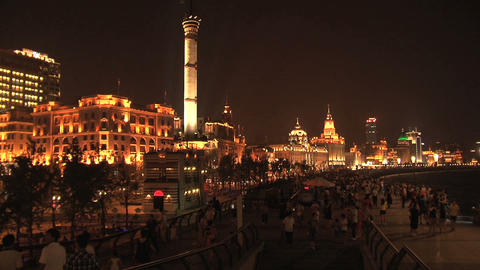 The Bund, Shanghai Stock Video Footage