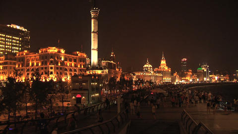 The Bund, Shanghai Footage