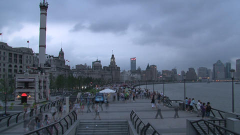 The Bund time lapse Footage