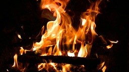 Blaze burning fire Stock Video Footage